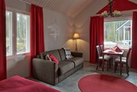 Classic cottage-Santa Claus package with half board, daily cleaning and visit from Santa Claus